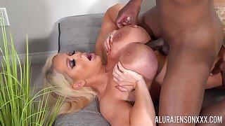 Exclusive mature porn with Alura Jenson