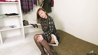 Seductive age-old woman Rafaella is lust after young tramp