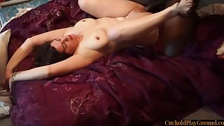 Husband Parcelling His Cuckolding Wife With Black Bull