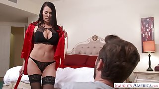 Seductive MILFie housewife just loves flashing her about meanderings and fucking doggy