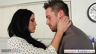 Awesome with an increment of humidity sex of Audrey Bitoni with an increment of Johnny Castle is arousing