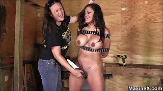 Hot curvy MILF bdsm kinky porn video