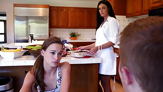 Feeling of excitement sexual relations with gf's stepmom turns into