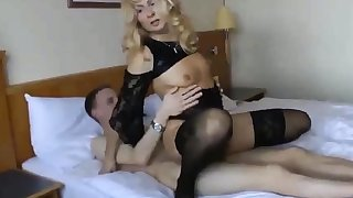 Cuckold girl with younger beau