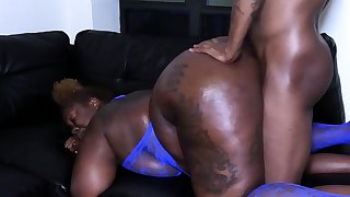 Black Ex With A Fine Ass Doggystyled And Taking Cumshot