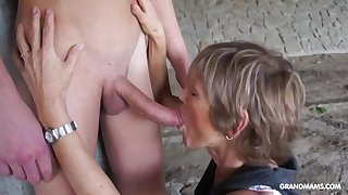 Horny Lady Teases Say no to Toyboy